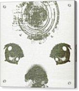 Atomic Dog's Eyes Acrylic Print