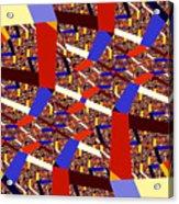 Atomic Link Acrylic Print