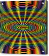 Atomic Rainbow Acrylic Print