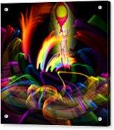 Atrium Outburst Angel Acrylic Print