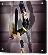 Attack Of The Bat Gal Acrylic Print