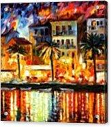 Attractive Corsica Acrylic Print