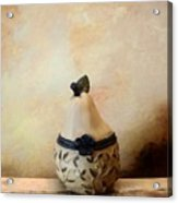 Au Pear Acrylic Print