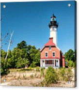 Au Sable Point Lighthouse Acrylic Print