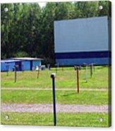 Auburn Ny - Drive-in Theater 3 Acrylic Print