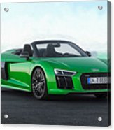 Audi R-8 Spyder Acrylic Print