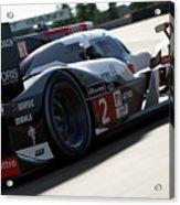 Audi R18 E-tron, Le Mans - 09 Acrylic Print
