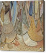 Audience For The Ceremonial Dancers Acrylic Print