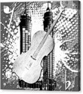 Audio Graphics 1 Acrylic Print