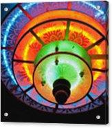 Auditorium Neon Acrylic Print