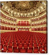 Auditorium Of The Great Theatre - Opera Acrylic Print