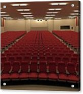 Auditorium Acrylic Print