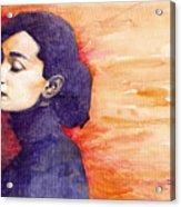 Audrey Hepburn 1 Acrylic Print