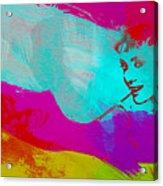 Audrey Hepburn Acrylic Print by Naxart Studio