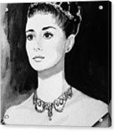 Audrey Acrylic Print