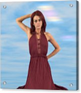 Audrey Michelle 2030054 Acrylic Print