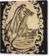 Audrey's Dragon Acrylic Print
