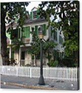 Audubon House Key West Acrylic Print