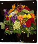 August Bouquet Acrylic Print