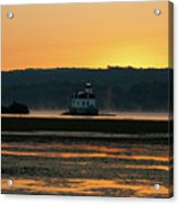 August Dawn At Esopus Light II Acrylic Print