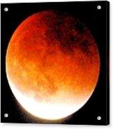 August Eclipse Tucson, Az Acrylic Print