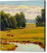 August Pastoral Acrylic Print