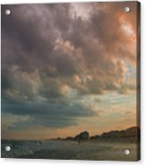 August Skies Over Ocean Isle Beach Acrylic Print