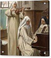 August Wilhelm Roesler Acrylic Print