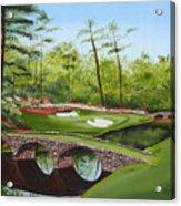 Augusta Golf Course Acrylic Print by Kimber  Butler