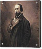 Auguste Vacquerie Acrylic Print
