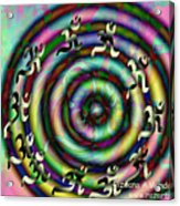 Aum 42 Acrylic Print