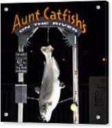 Aunt Catfish Acrylic Print