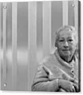 Aunt Hanneh Acrylic Print