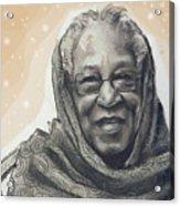 Aunt Irene Acrylic Print by Gary Williams