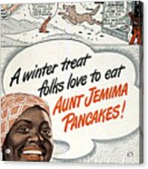 Aunt Jemima Ad, 1948 Acrylic Print