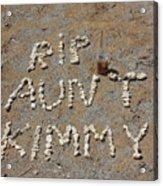 Aunt Kimmy Acrylic Print