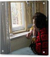 Aunt Leila - Watching Over The Neigbourhood Acrylic Print
