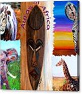 Auras Of Africa Acrylic Print