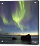Aurora At Uttakleiv Acrylic Print