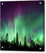 Aurora Boreale In Lapponia Acrylic Print