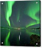 Aurora Borealis Acrylic Print by Bernt Olsen