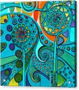Aurora Borealis Green Acrylic Print