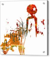 Aurora Orange Acrylic Print