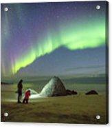 Aurora Photographers Acrylic Print