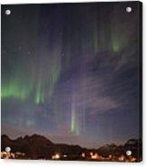 Aurora Tasiilaq And Dipper Greenland 7890 Acrylic Print