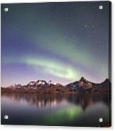 Aurora Tasiilaq Greenland 7279 Acrylic Print