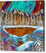 Aurora's Reflections Acrylic Print