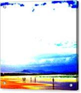 Aussie Beach Acrylic Print