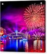 Aussie Celebrations Acrylic Print
