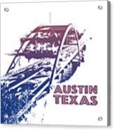 Austin 360 Bridge, Texas Acrylic Print